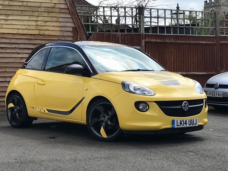 2014 Vauxhall ADAM 1.4 16v SLAM 3dr - Picture 1 of 33