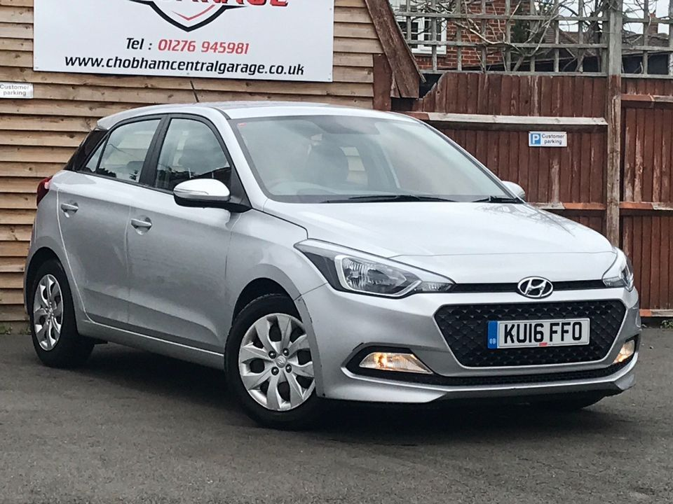 2016 Hyundai i20 1.2 Blue Drive S (s/s) 5dr - Picture 1 of 30