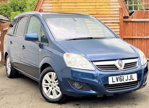 2012 Vauxhall Zafira 1.7 CDTi ecoFLEX 16v Elite 5dr
