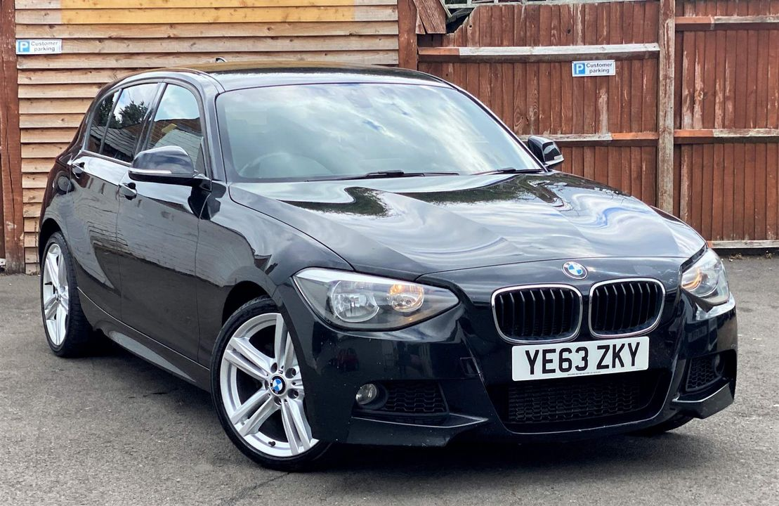 2013 BMW 1 Series 2.0 118d M Sport Sports Hatch (s/s) 5dr - Picture 1 of 19