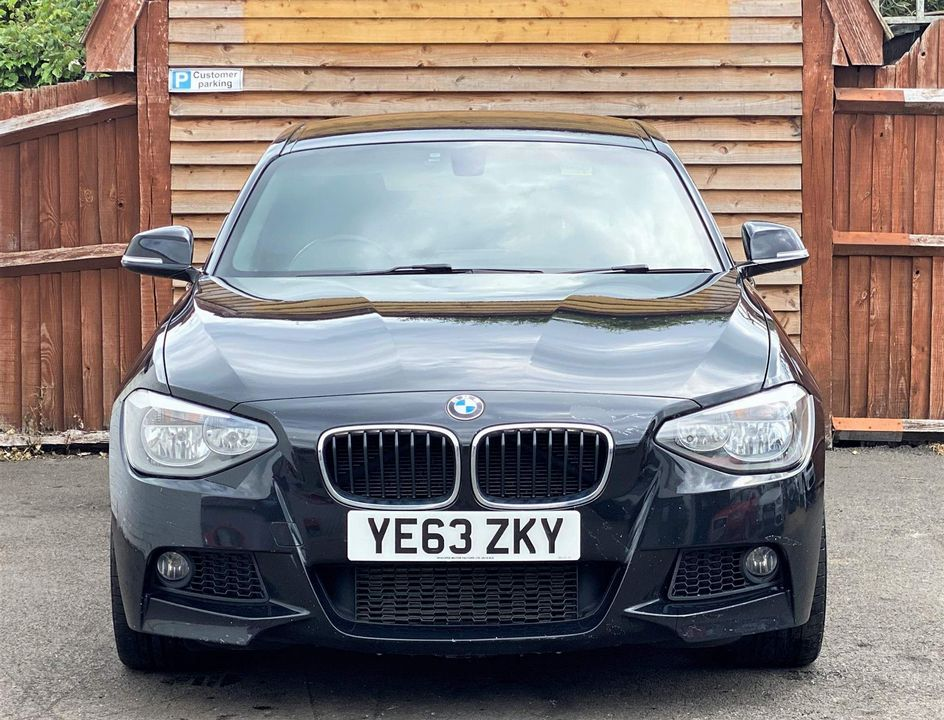 2013 BMW 1 Series 2.0 118d M Sport Sports Hatch (s/s) 5dr - Picture 2 of 19