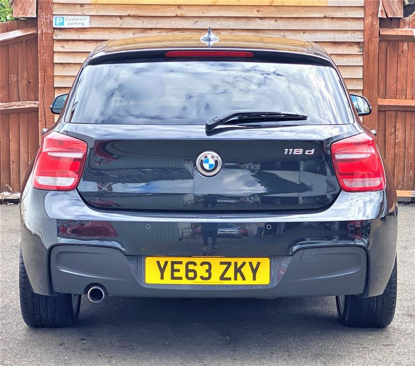 2013 BMW 1 Series 2.0 118d M Sport Sports Hatch (s/s) 5dr - Picture 4 of 19