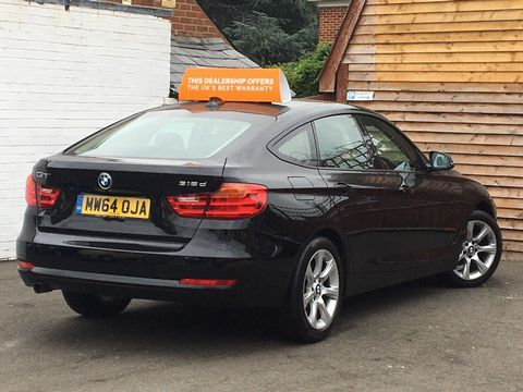2014 BMW 3 Series Gran Turismo 2.0 318d SE GT (s/s) 5dr - Picture 5 of 39