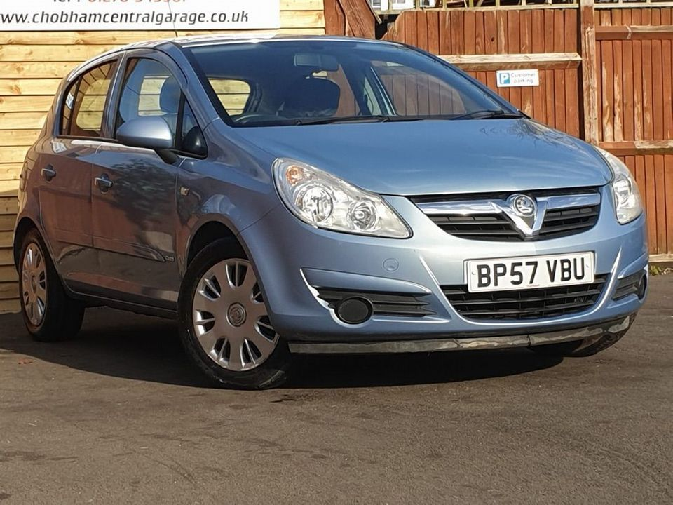 2008 Vauxhall Corsa 1.4 i 16v Club 5dr - Picture 1 of 24