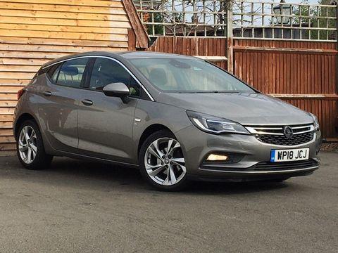 2018 Vauxhall Astra 1.4i Turbo SRi Nav 5dr - Picture 1 of 8