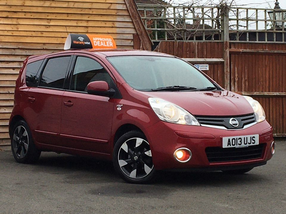2013 Nissan Note 1.4 16V n-tec+ 5dr - Picture 1 of 28