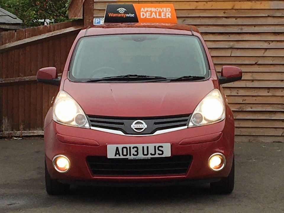 2013 Nissan Note 1.4 16V n-tec+ 5dr - Picture 3 of 28