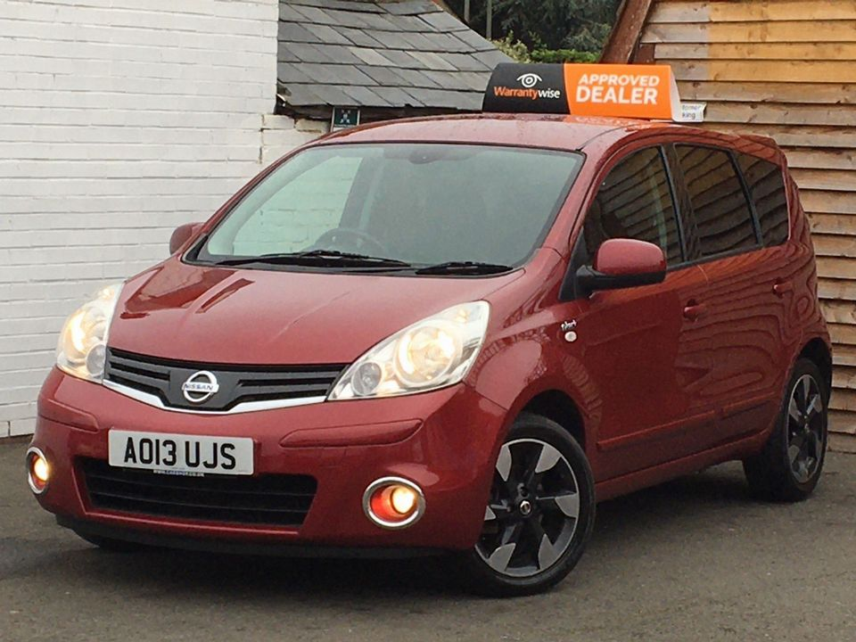 2013 Nissan Note 1.4 16V n-tec+ 5dr - Picture 4 of 28