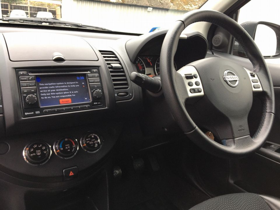2013 Nissan Note 1.4 16V n-tec+ 5dr - Picture 9 of 28