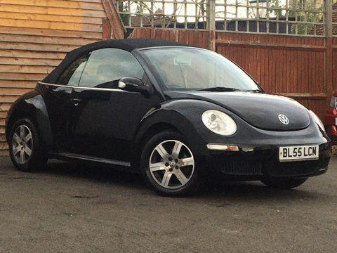 2005 Volkswagen Beetle 1.4 16V Luna Cabriolet 2dr