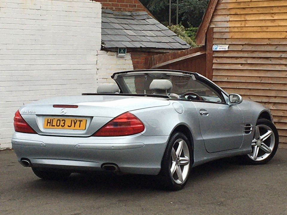 2003 Mercedes-Benz SL Class 3.7 SL350 2dr - Picture 10 of 33