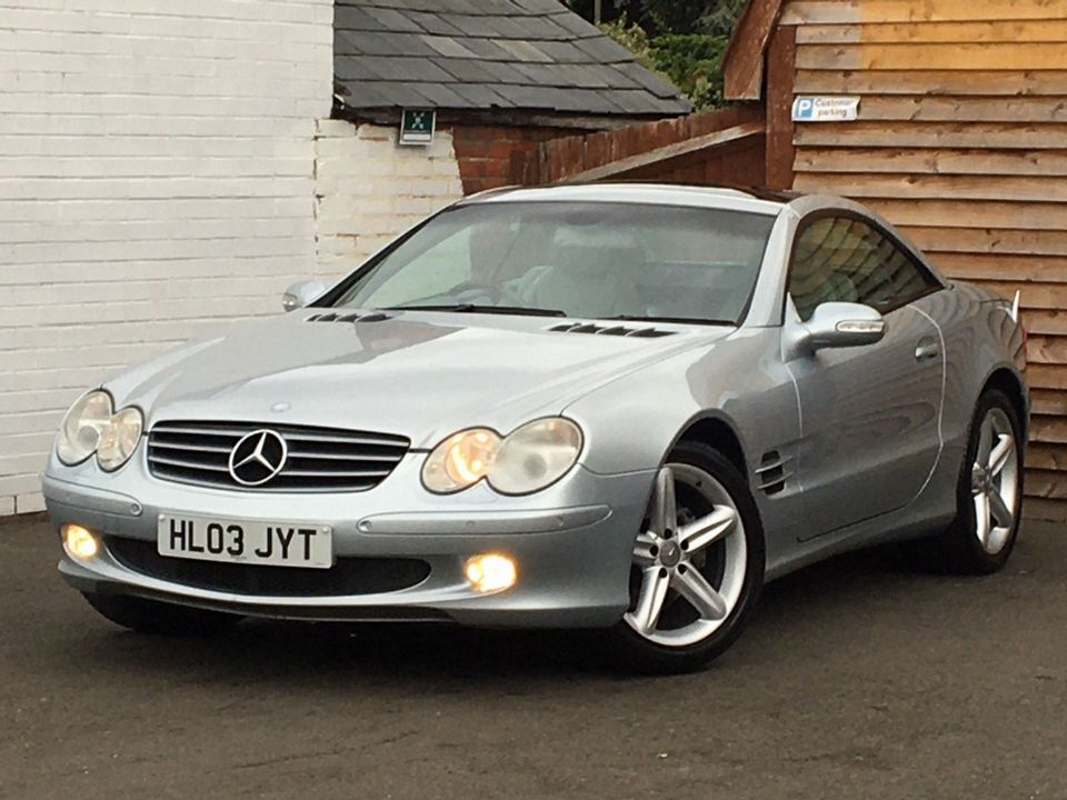 2003 Mercedes-Benz SL Class 3.7 SL350 2dr - Picture 4 of 33