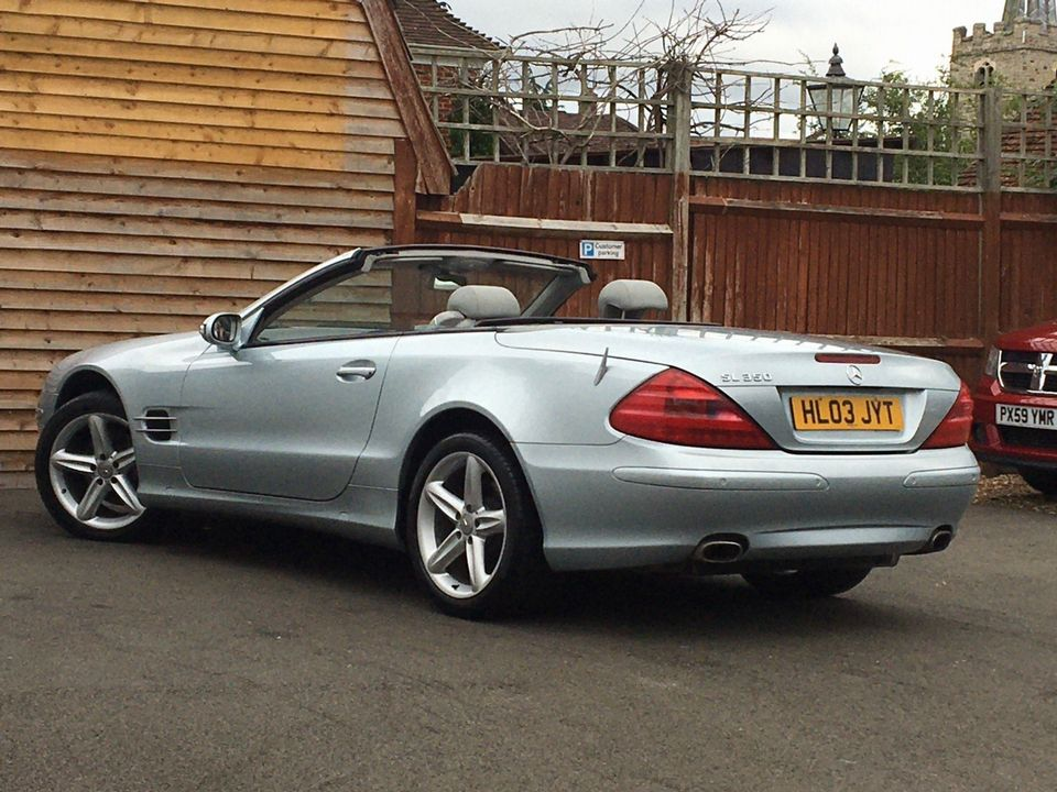 2003 Mercedes-Benz SL Class 3.7 SL350 2dr - Picture 7 of 33