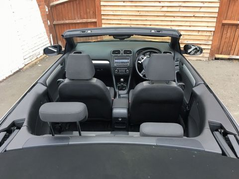 2012 Volkswagen Golf 1.6 TDI BlueMotion Tech S Cabriolet (s/s) 2dr - Picture 16 of 40