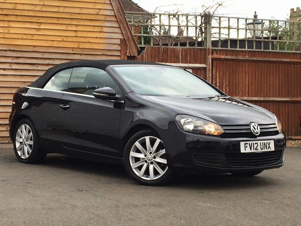 2012 Volkswagen Golf 1.6 TDI BlueMotion Tech S Cabriolet (s/s) 2dr - Picture 1 of 40