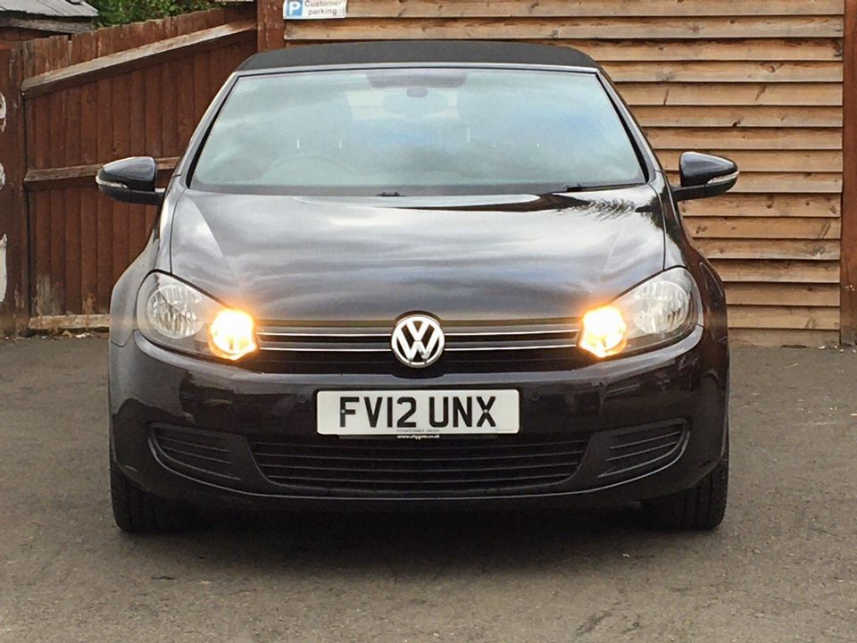2012 Volkswagen Golf 1.6 TDI BlueMotion Tech S Cabriolet (s/s) 2dr - Picture 3 of 40