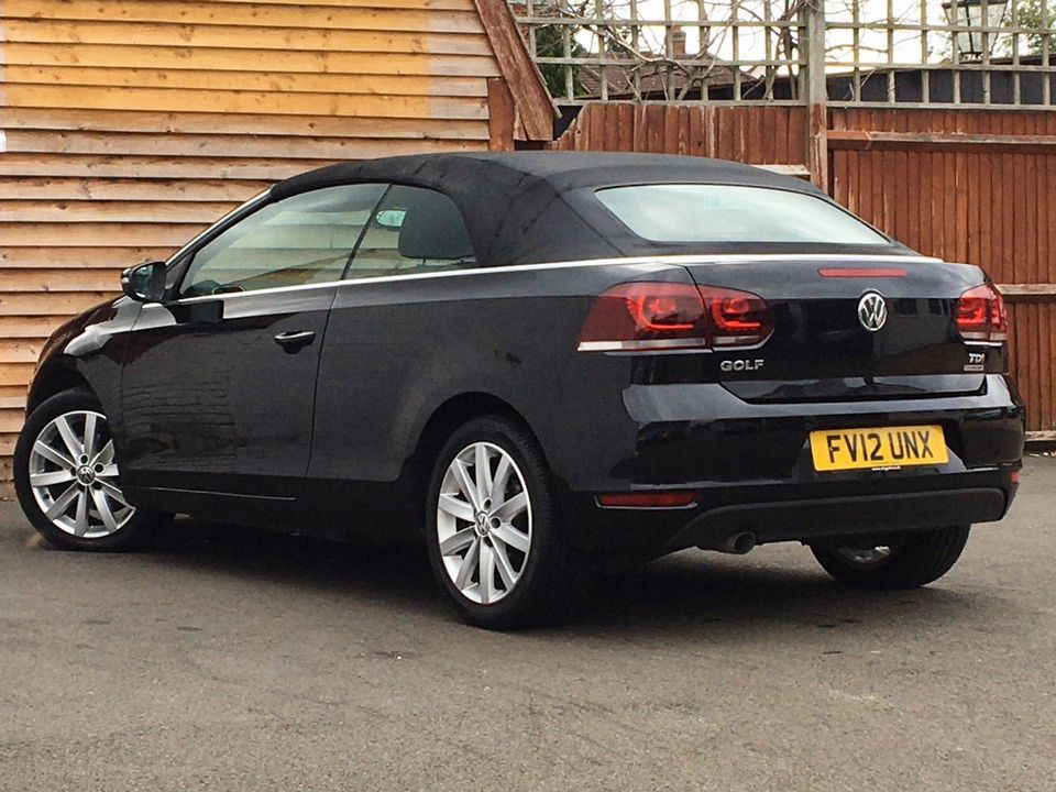 2012 Volkswagen Golf 1.6 TDI BlueMotion Tech S Cabriolet (s/s) 2dr - Picture 5 of 40