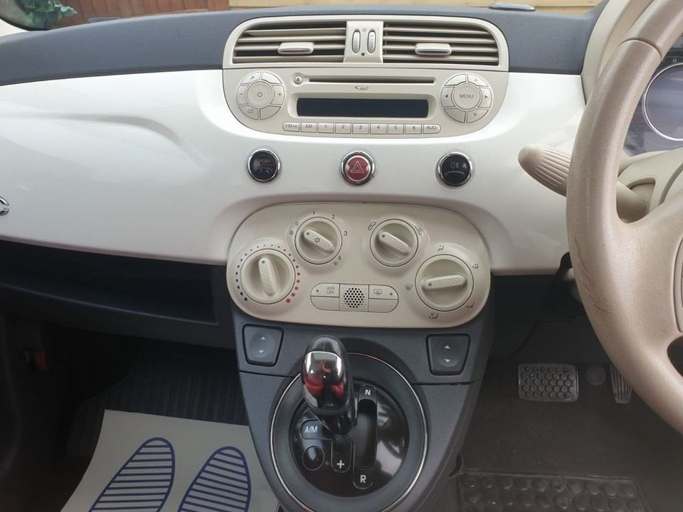2009 Fiat 500 1.4 16v Lounge Dualogic 3dr - Picture 15 of 23