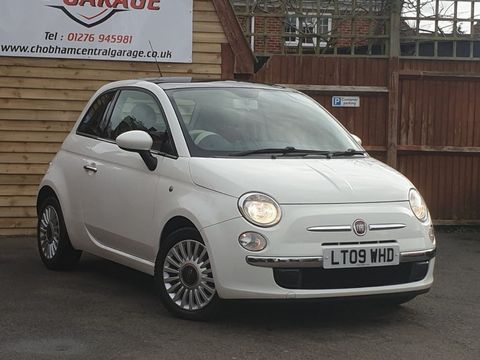 2009 Fiat 500 1.4 16v Lounge Dualogic 3dr - Picture 1 of 23