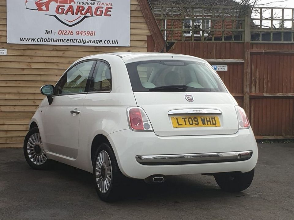 2009 Fiat 500 1.4 16v Lounge Dualogic 3dr - Picture 6 of 23