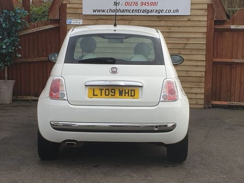 2009 Fiat 500 1.4 16v Lounge Dualogic 3dr - Picture 7 of 23