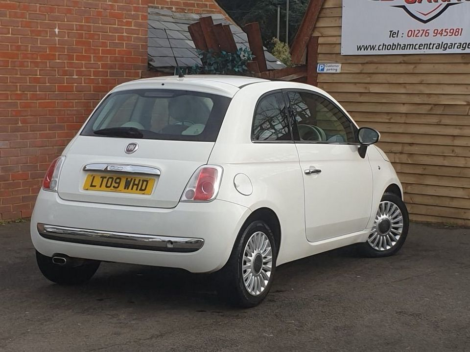 2009 Fiat 500 1.4 16v Lounge Dualogic 3dr - Picture 8 of 23