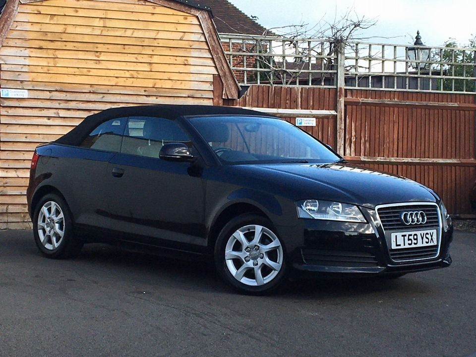 2009 Audi A3 Cabriolet 1.6 Cabriolet 2dr - Picture 1 of 29