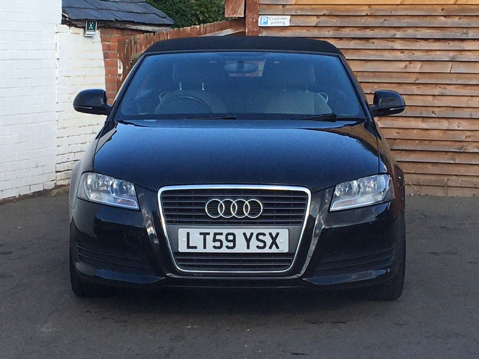 2009 Audi A3 Cabriolet 1.6 Cabriolet 2dr - Picture 3 of 29