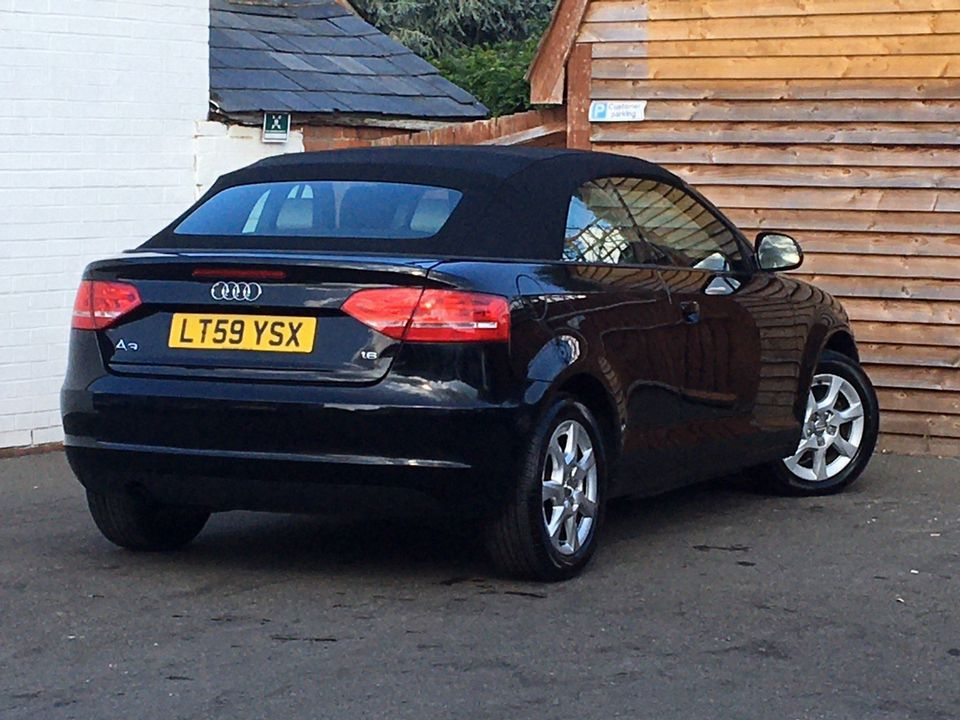 2009 Audi A3 Cabriolet 1.6 Cabriolet 2dr - Picture 7 of 29