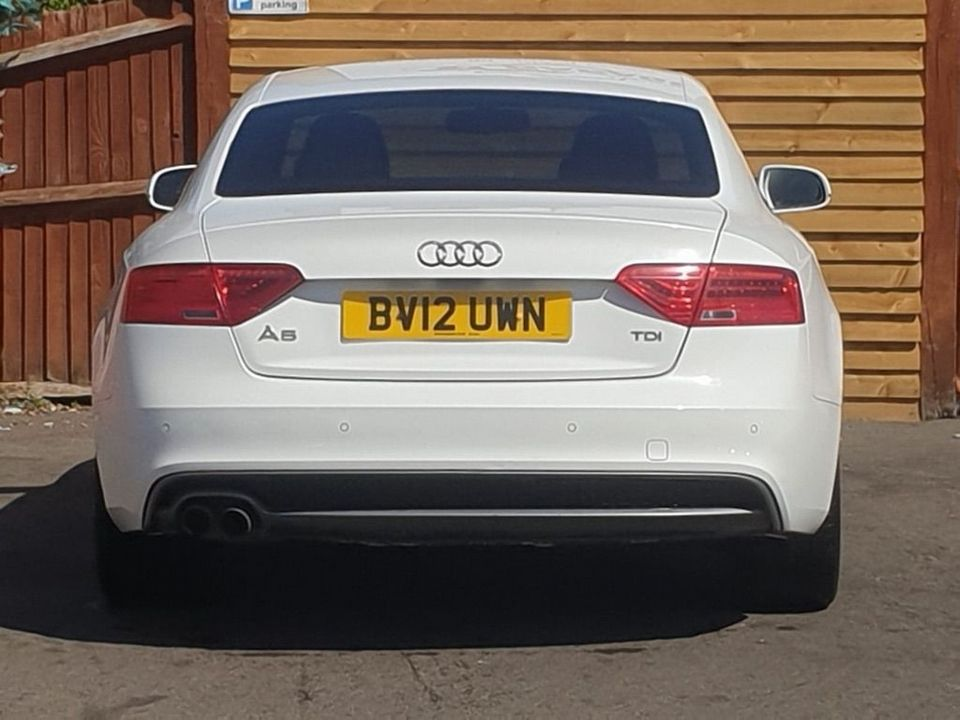 2012 Audi A5 2.0 TDI Black Edition Multitronic 2dr - Picture 10 of 26