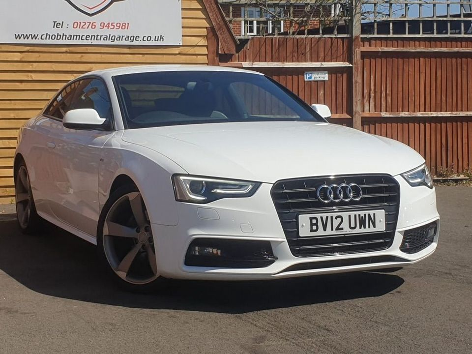 2012 Audi A5 2.0 TDI Black Edition Multitronic 2dr - Picture 1 of 26
