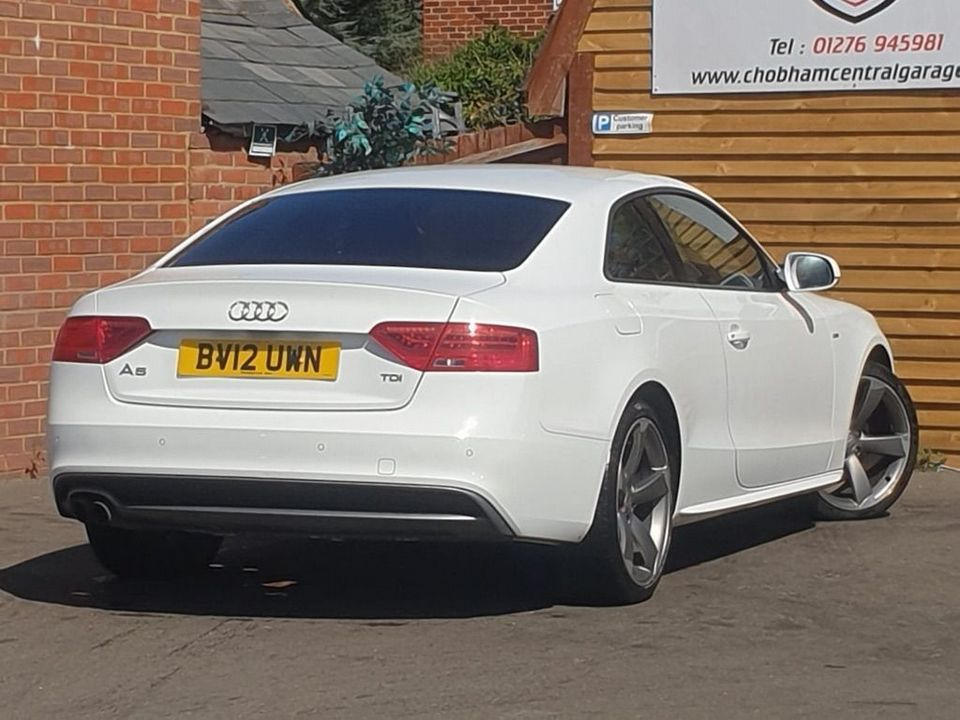 2012 Audi A5 2.0 TDI Black Edition Multitronic 2dr - Picture 7 of 26