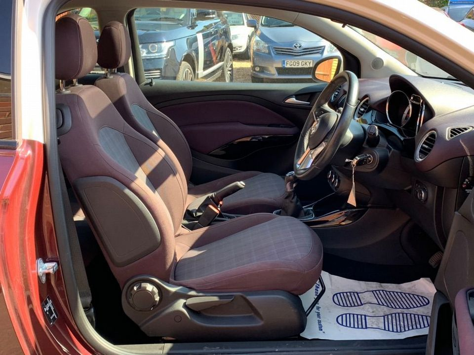 2013 Vauxhall ADAM 1.4 16v GLAM 3dr - Picture 15 of 27