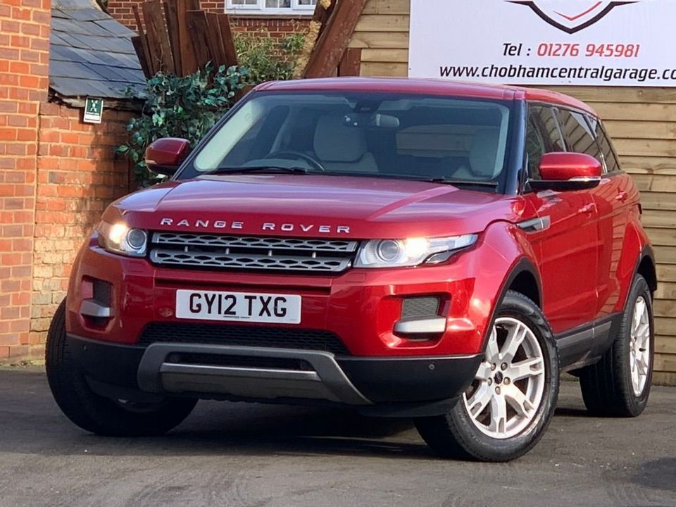 2012 Land Rover Range Rover Evoque 2.2 ED4 Pure Tech 2WD 5dr - Picture 5 of 34
