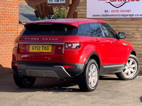 2012 Land Rover Range Rover Evoque 2.2 ED4 Pure Tech 2WD 5dr - Picture 10 of 34