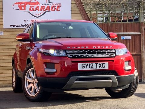 2012 Land Rover Range Rover Evoque 2.2 ED4 Pure Tech 2WD 5dr - Picture 1 of 34