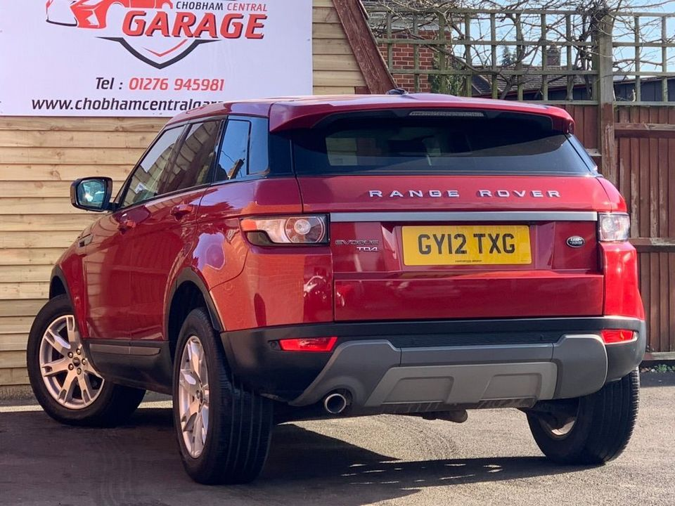 2012 Land Rover Range Rover Evoque 2.2 ED4 Pure Tech 2WD 5dr - Picture 8 of 34