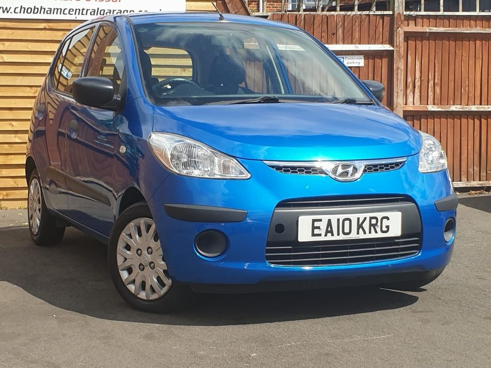 2010 Hyundai i10 1.2 Classic 5dr - Picture 1 of 25