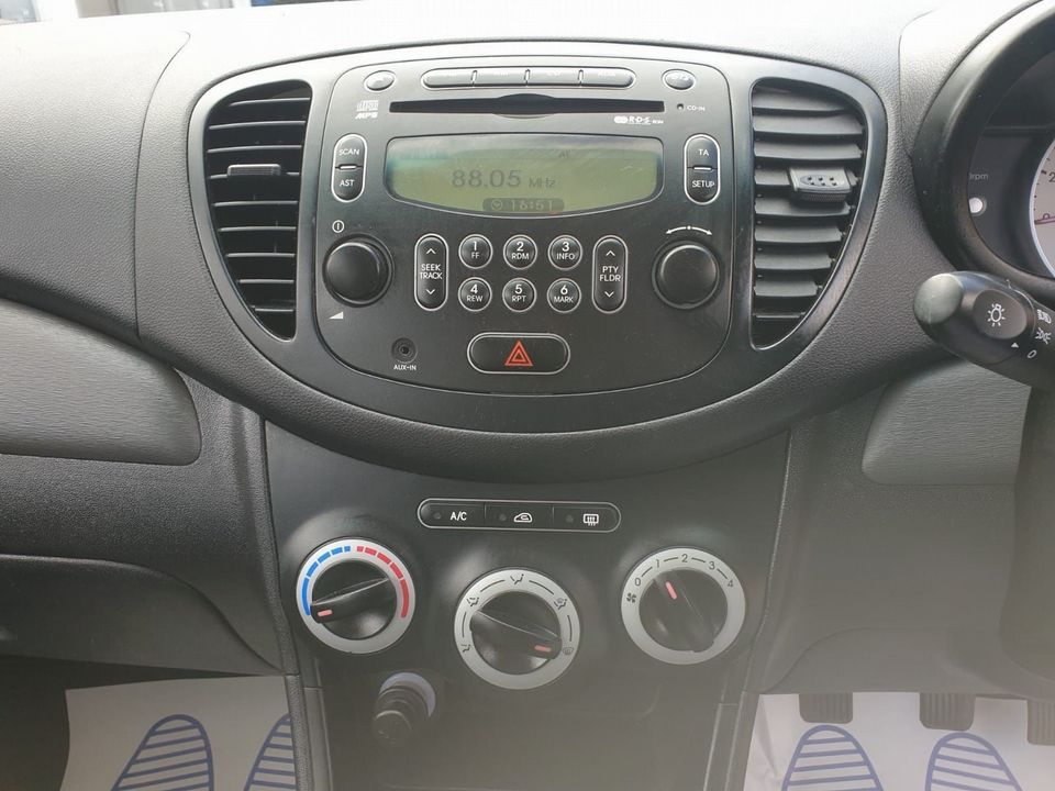2010 Hyundai i10 1.2 Classic 5dr - Picture 14 of 25