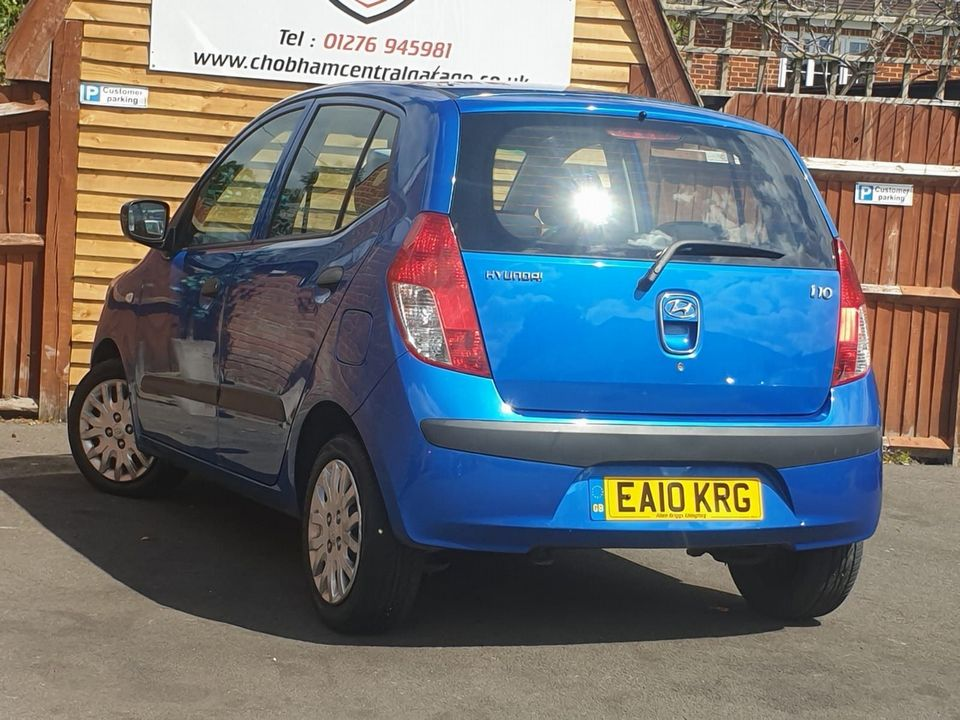 2010 Hyundai i10 1.2 Classic 5dr - Picture 8 of 25