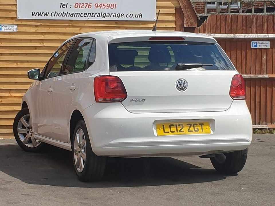 2012 Volkswagen Polo 1.2 Match 5dr - Picture 8 of 24