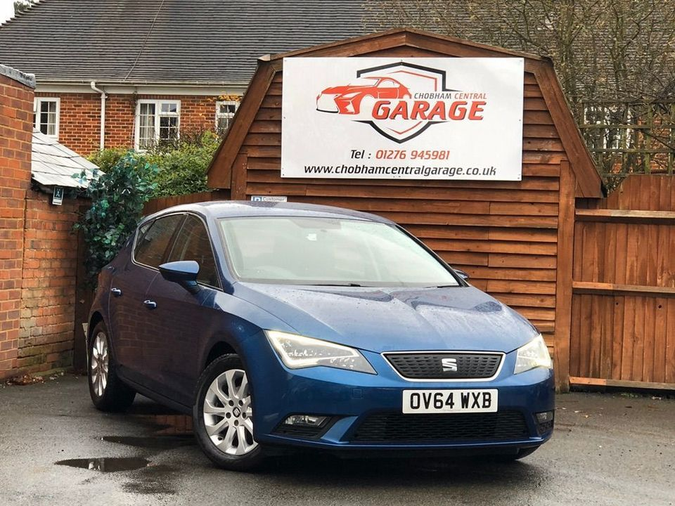 2014 SEAT Leon 1.6 TDI Ecomotive SE (Tech Pack) (s/s) 5dr - Picture 1 of 38