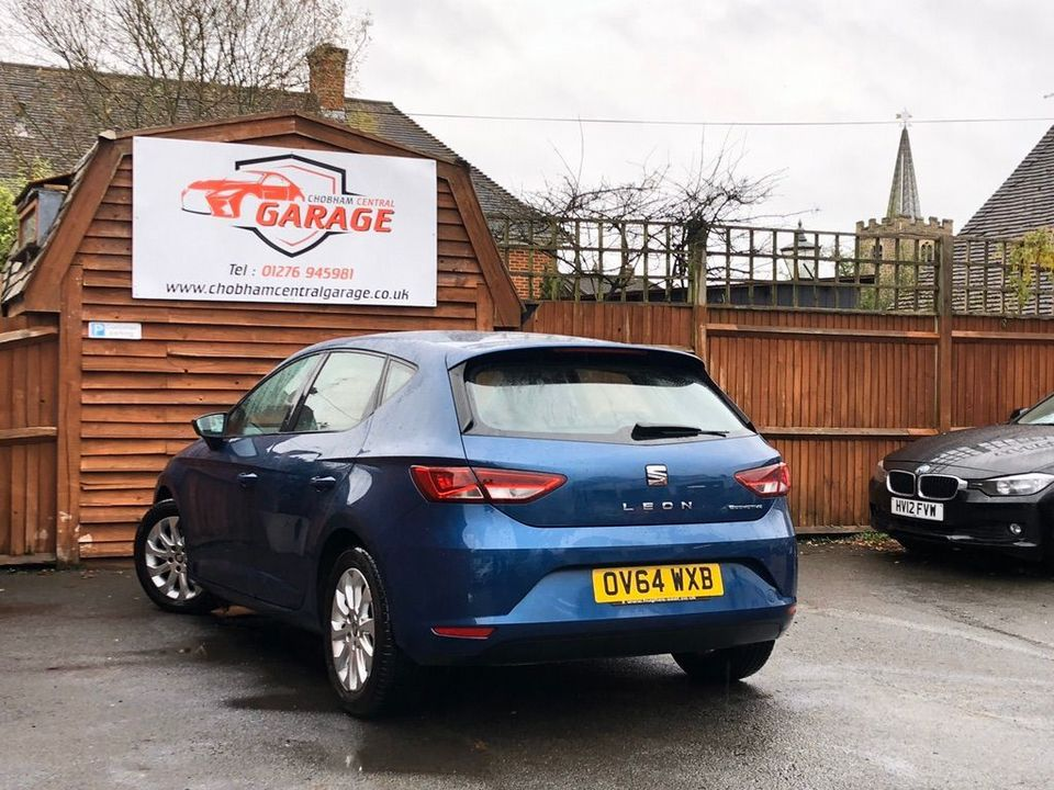 2014 SEAT Leon 1.6 TDI Ecomotive SE (Tech Pack) (s/s) 5dr - Picture 9 of 38