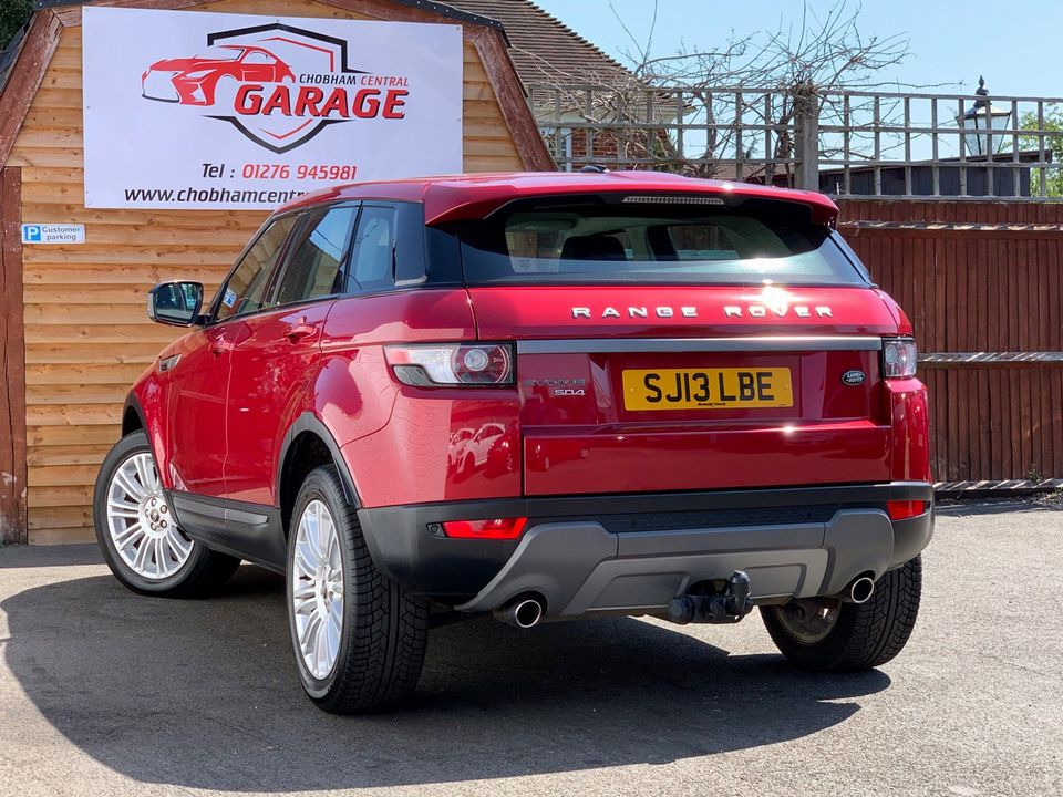2013 Land Rover Range Rover Evoque 2.2 SD4 Pure Tech AWD 5dr - Picture 10 of 33