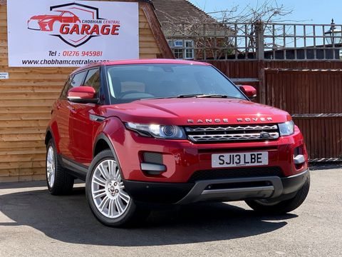 2013 Land Rover Range Rover Evoque 2.2 SD4 Pure Tech AWD 5dr - Picture 1 of 33