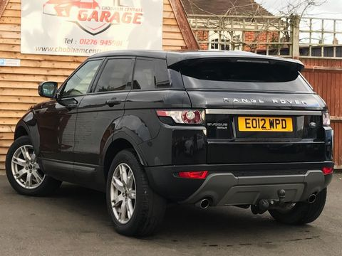 2012 Land Rover Range Rover Evoque 2.2 SD4 Pure Tech AWD 5dr - Picture 9 of 29