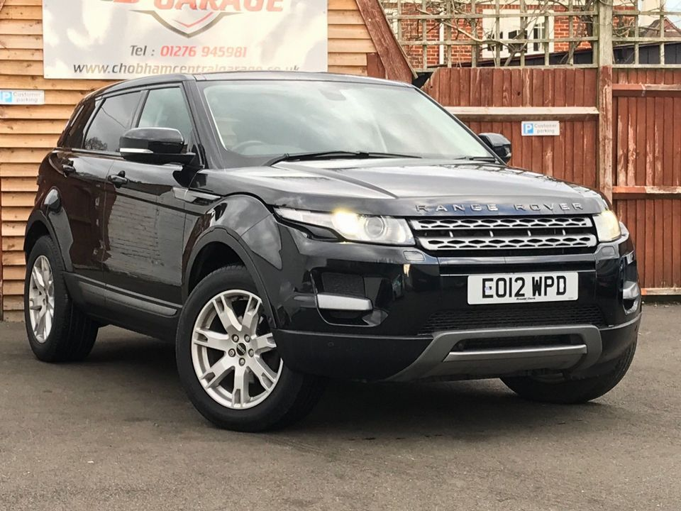 2012 Land Rover Range Rover Evoque 2.2 SD4 Pure Tech AWD 5dr - Picture 1 of 34