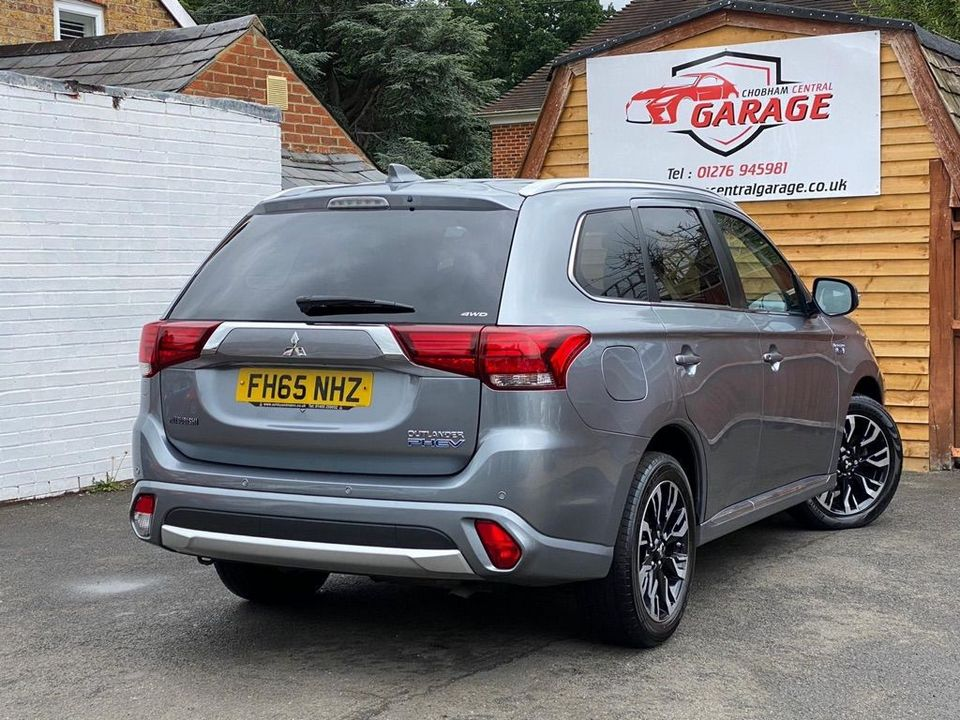 2016 Mitsubishi Outlander 2.0h 12kWh GX3h CVT 4WD (s/s) 5dr - Picture 12 of 33