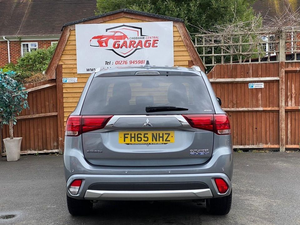 2016 Mitsubishi Outlander 2.0h 12kWh GX3h CVT 4WD (s/s) 5dr - Picture 14 of 33