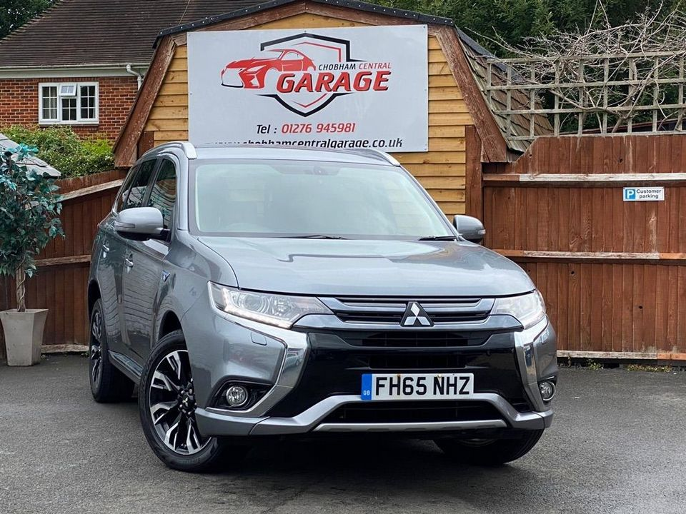 2016 Mitsubishi Outlander 2.0h 12kWh GX3h CVT 4WD (s/s) 5dr - Picture 1 of 33